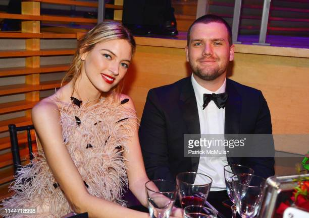 Martha Hunt and Austin Swift attend the Time 100 Gala 2019 at Jazz at Lincoln Center on April 23 2019 in New York City