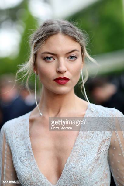 Martha Hunt arrives at the amfAR Gala Cannes 2017 at Hotel du CapEdenRoc on May 25 2017 in Cap d'Antibes France