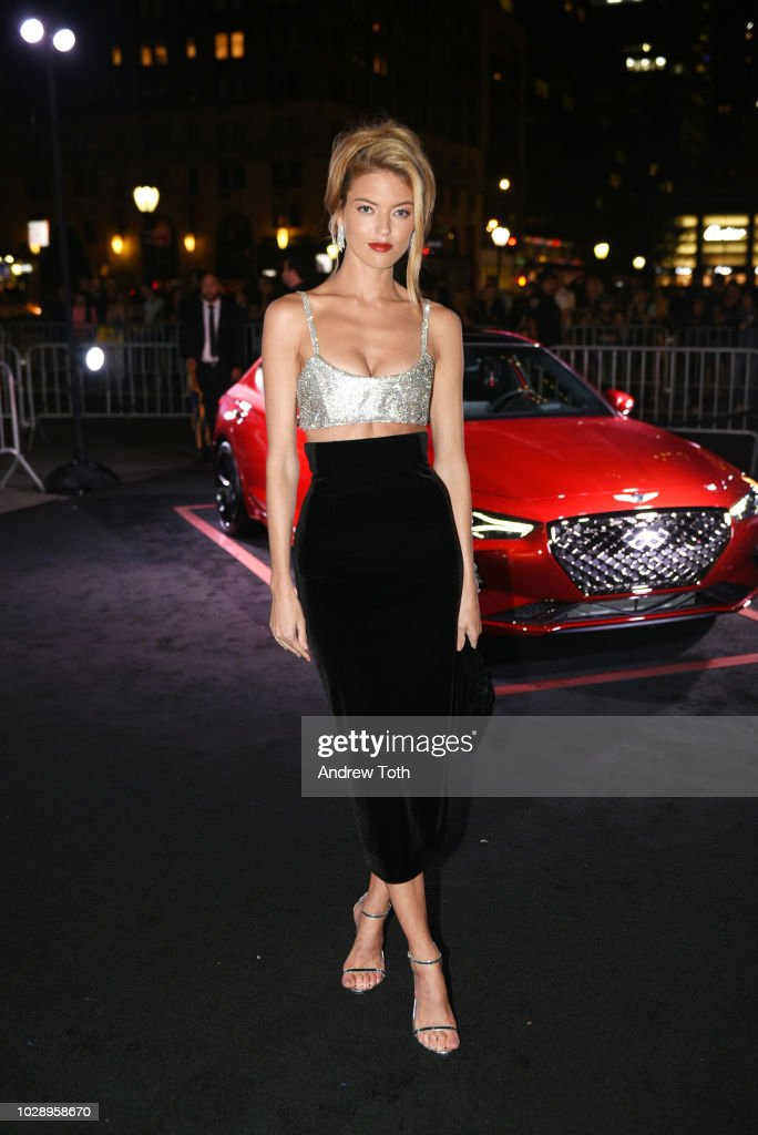 Martha Hunt as Harper's BAZAAR Celebrates 'ICONS By Carine Roitfeld' at the Plaza Hotel on September 7, 2018 in New York City.