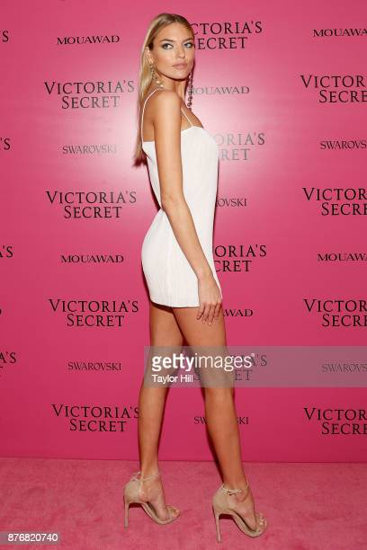 Martha Hunt attends the 2017 Victoria's Secret Fashion Show After Party on November 20 2017 in Shanghai China