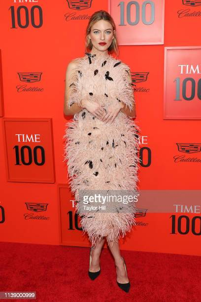 Martha Hunt attends the 2019 Time 100 Gala at Frederick P Rose Hall Jazz at Lincoln Center on April 23 2019 in New York City