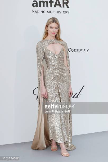 Martha Hunt attends the amfAR Cannes Gala 2019 at Hotel du CapEdenRoc on May 23 2019 in Cap d'Antibes France