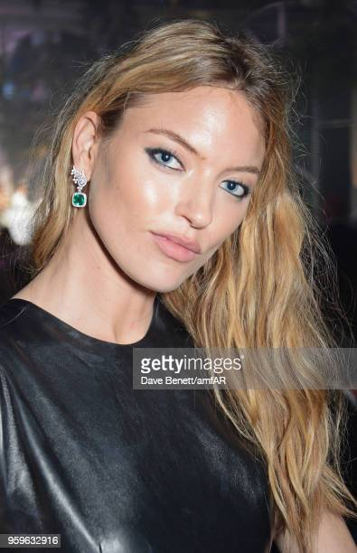 Martha Hunt attends the amfAR Gala Cannes 2018 dinner at Hotel du CapEdenRoc on May 17 2018 in Cap d'Antibes France