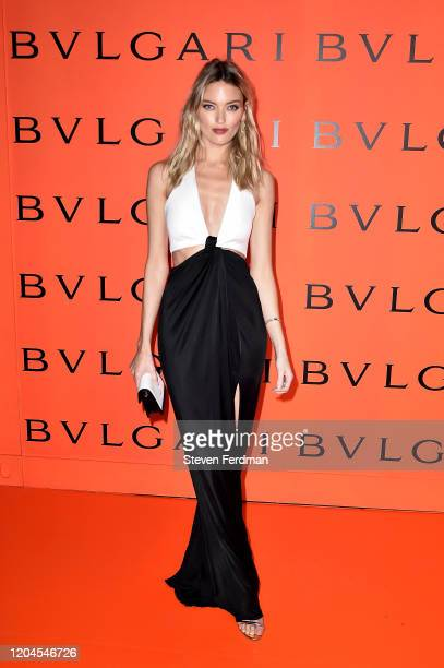 Martha Hunt attends the Bvlgari Bzero1 Rock collection event at Duggal Greenhouse on February 06 2020 in Brooklyn New York