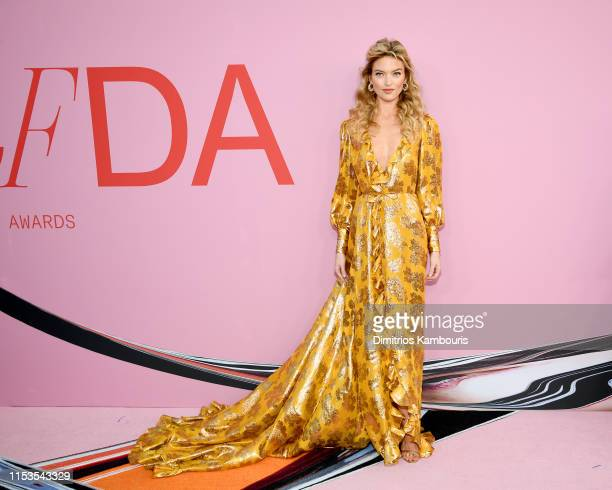 Martha Hunt attends the CFDA Fashion Awards at the Brooklyn Museum of Art on June 03 2019 in New York City