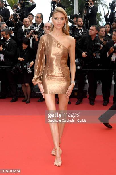 Martha Hunt attends the screening of Les Plus Belles Annees D'Une Vie during the 72nd annual Cannes Film Festival on May 18 2019 in Cannes France