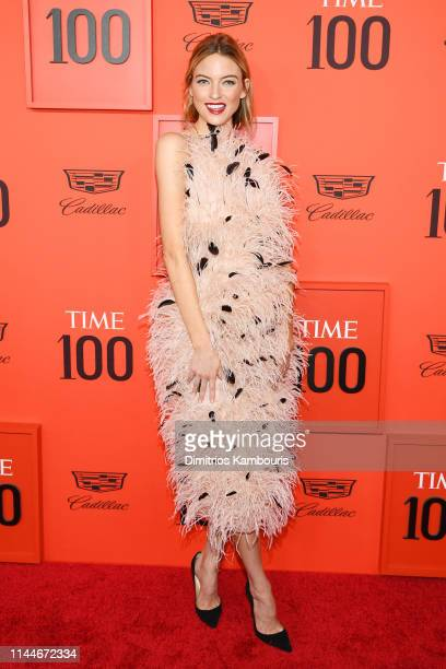 Martha Hunt attends the TIME 100 Gala Red Carpet at Jazz at Lincoln Center on April 23 2019 in New York City