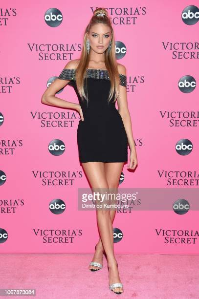 Martha Hunt attends the Victoria's Secret Viewing Party at Spring Studios on December 2 2018 in New York City