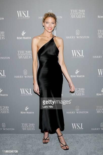 Martha Hunt attends the WSJ Magazine 2019 Innovator Awards sponsored by Harry Winston and Rémy Martinat MOMA on November 06 2019 in New York City