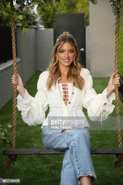 Martha Hunt attends Victoria's Secret Hosts a Summer Soiree with Angel Martha Hunt on May 24 2018 in Santa Monica California