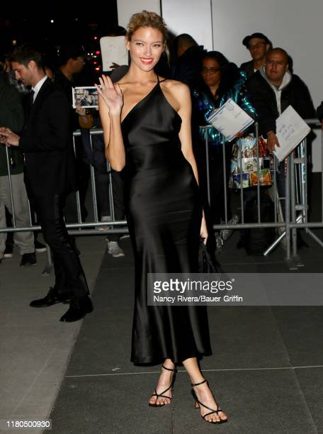 Martha Hunt is seen on November 06 2019 in New York City