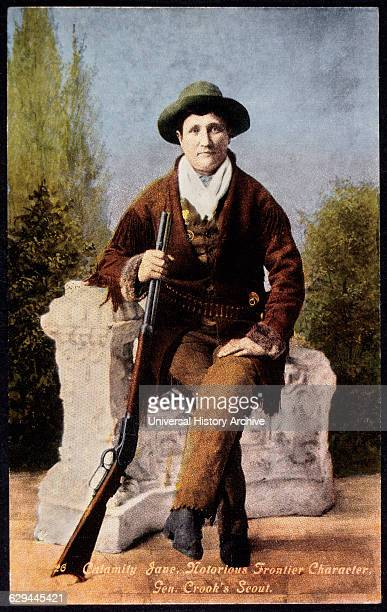 Martha Jane Calamity Jane Canary Frontierswoman and Scout Portrait circa 1876