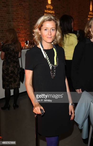 Martha Lane Fox attends the Baileys Women's Prize for Fiction Short List Announcement at The Magazine at The Serpentine Gallery on April 7 2014 in...