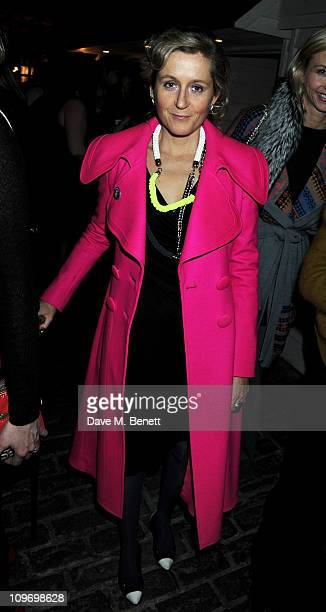 Martha Lane Fox attends the book launch for Sarah Brown's new memoir about life at 10 Downing Street 'Behind The Black Door' at Shoreditch House on...