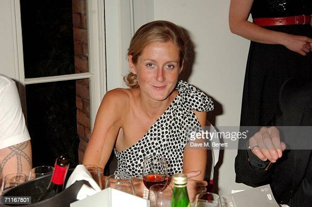 Martha Lane Fox attends the British Academy of Film and Television Art's fundraising dinner and auction at Chinawhite on June 8 2006 in London England