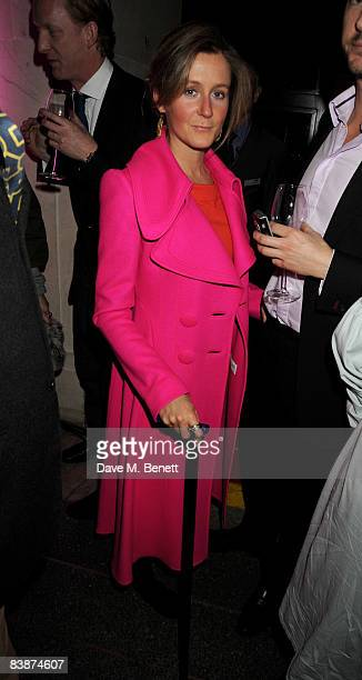 Martha Lane Fox attends the Turner Prize 2008 at Tate Britain on December 1 2008 in London England