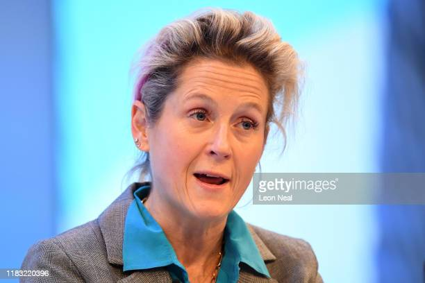 Martha lane fox speaks at the annual CBI conference on November 18 2019 in London England With 24 days to go until the general election each of the...