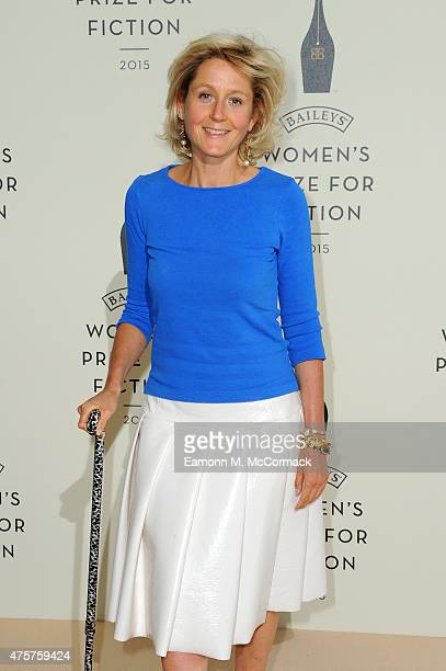 Martha LaneFox arrives to celebrate the 2015 Baileys Women's Prize for Fiction at London's Royal Festival Hall on Wednesday 3 June 2015 in London...