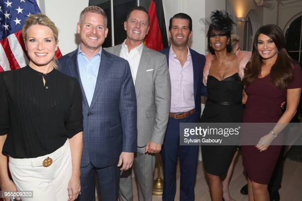 Martha MacCallum Matt Lashey Ambassador Richard Grenell Donald Trump Jr Harris Faulkner and Kimberly Guilfoyle attend Ambassador Grenell Goodbye Bash...