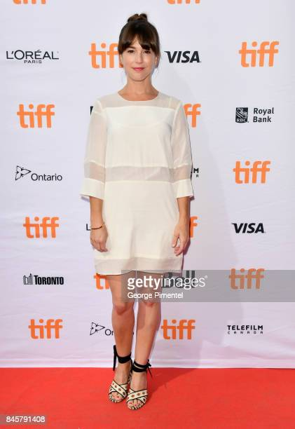 Martha MacIsaac attends the 'Unicorn Store' premiere during the 2017 Toronto International Film Festival at Ryerson Theatre on September 11 2017 in...