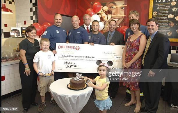 Martha Mariscal, store owner; J.J., Make-A-Wish child; Mike Billingsley, Phoenix Fire Department; Todd Dunnington, Phoenix Fire Department; Donald...