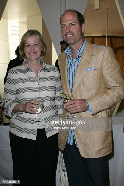 Martha Nelson and Peter Callahan attend MARTHA STEWART SIRIO MACCIONI and ANDREW BORROK Host a Lucheon to Celebrate 'NO RESERVATIONS' at Le Cirque on...