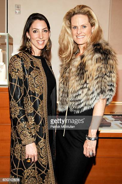 Martha O'Brien and Ashley McDermott attend BVLGARI and The Society of Memorial SloanKettering Cancer Center Cocktail Event at Bvlgari on November 13...