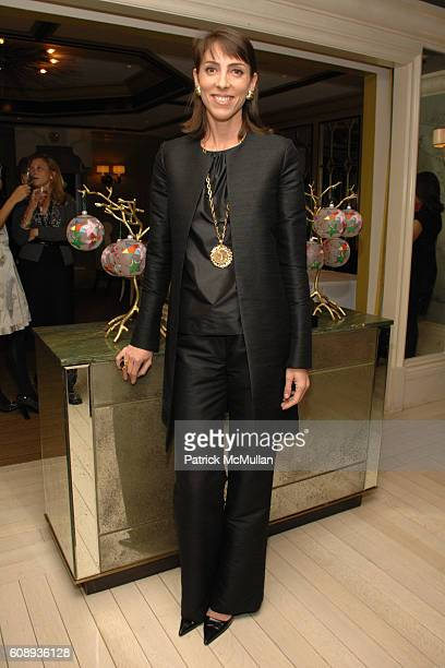 Martha O'Brien attends BERGDORF GOODMAN Holiday Cocktails to benefit The Society of Memorial SloanKettering Cancer Center at Bergdorf Goodman on...