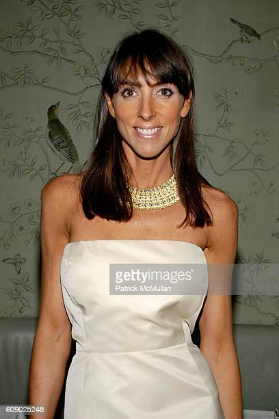 Martha O'Brien attends BERGDORF GOODMAN hosts cocktails to introduce the MARTHA O'BRIEN JEWELRY Collection at 7th Floor on May 9 2007 in New York City