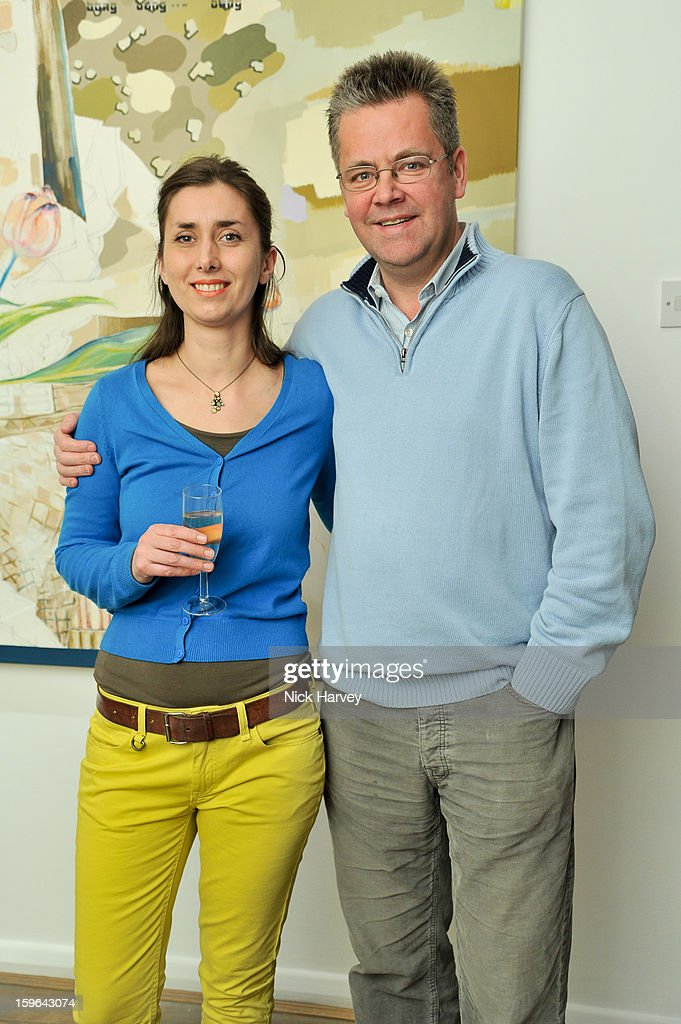 Martha Parsey and Charlie Phillips attend her private view: If 6 Was 9 at Eleven on January 17, 2013 in London, England.