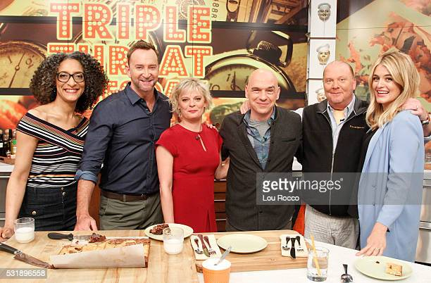 THE CHEW 5/17/16 Martha Plimpton appears on THE CHEW airing MONDAY FRIDAY on the ABC Television Network OZ