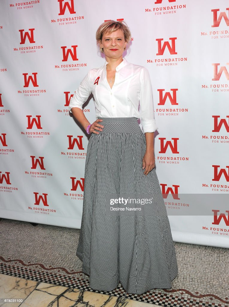Martha Plimpton attends Ms. Foundation for Women 2017 Gloria Awards at Capitale on May 3, 2017 in New York City.
