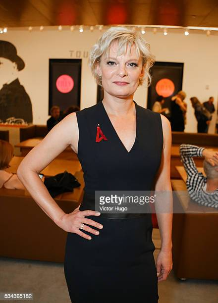 Martha Plimpton attends Seventh Annual Lilly Awards at Signature Theatre on May 23 2016 in New York City