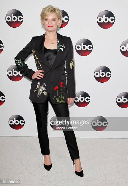 Martha Plimpton attends the Disney/ABC 2016 Winter TCA Tour at Langham Hotel on January 9 2016 in Pasadena California