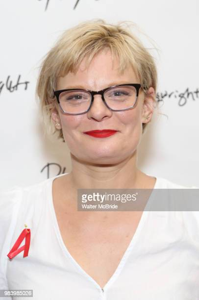 Martha Plimpton attends the opening night performance of the Playwrights Horizons world premiere production of 'Log Cabin' on June 25 2018 at...