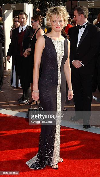 Martha Plimpton during 2002 Creative Arts Emmy Awards Arrivals at Shrine Auditorium in Los Angeles California United States
