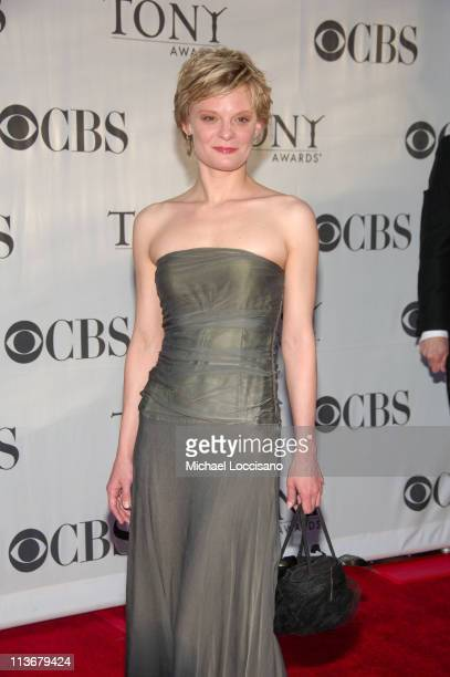 Martha Plimpton during 60th Annual Tony Awards Arrivals at Radio City Music Hall in New York City New York United States