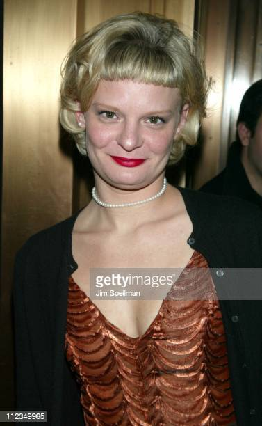 Martha Plimpton during Atlantic Theater Company's Spring Gala Benefit 'A Night In The City' Tribute To Michael Patrick King at Regent Wall Street...