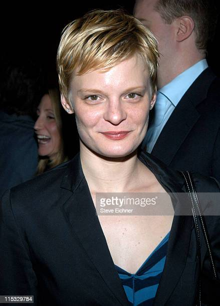 Martha Plimpton during Byrony Lavery's 'Frozen' Opening Night at Circle In The Square in New York New York United States