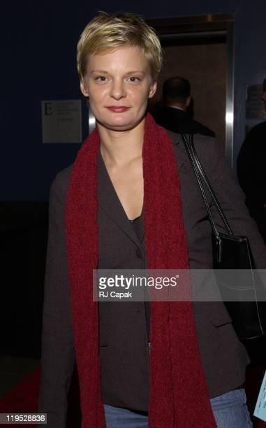 Martha Plimpton during 'Die Mommie Die' New York Premiere at Loew's 34th Street in New York City New York United States