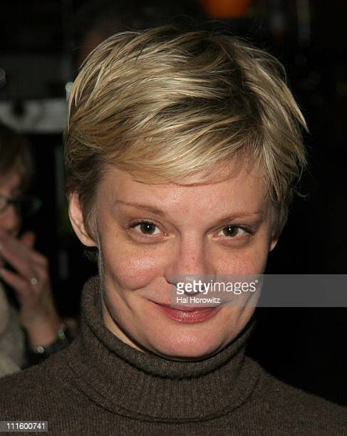 Martha Plimpton during 'The Fever' Off Broadway Opening Night at Metro Marche in New York City New York United States