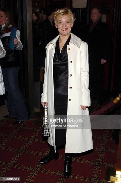 """Martha Plimpton during """"The Life Aquatic with Steve Zissou"""" New York Premiere - Inside Arrivals at Ziegfeld Theater in New York City, New York,..."""