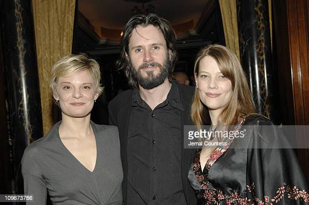 Martha Plimpton Josh Hamilton and Kellie Overbey during Opening Night Afterparty for Tom Stoppard's production of 'The Coast of Utopia Part Three...