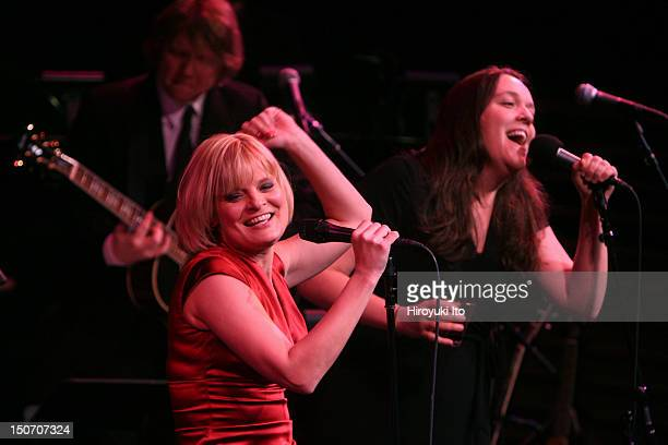 'Martha Plimpton Sings' at the Allen Room as part of Lincoln Center's 'American Songbook' series on Saturday night January 16 2010This imageMartha...
