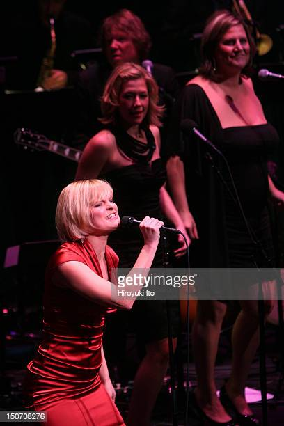 Martha Plimpton Sings at the Allen Room as part of Lincoln Center's American Songbook series on Saturday night January 16 2010This imageFrom left...