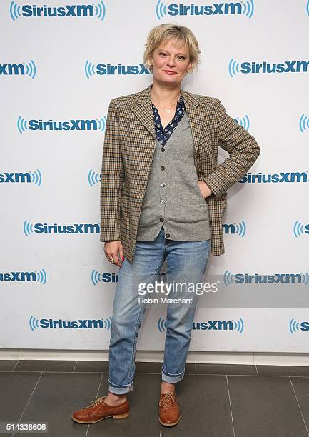 Martha Plimpton visits at SiriusXM Studio on March 8 2016 in New York City