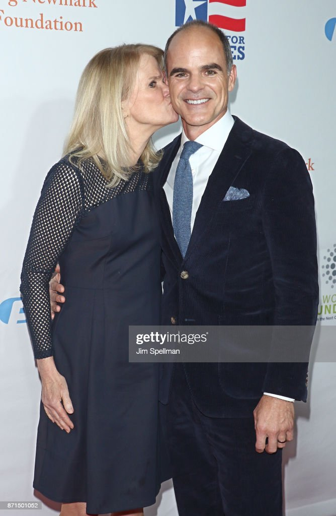 Martha Raddatz and actor Michael Kelly attend the 11th Annual Stand Up for Heroes at The Theater at Madison Square Garden on November 7, 2017 in New York City.