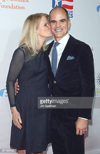 Martha Raddatz and actor Michael Kelly attend the 11th Annual Stand Up for Heroes at The Theater at Madison Square Garden on November 7 2017 in New...