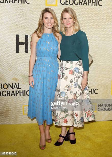 Martha Raddatz and her daughter Greta Bradlee arrive at the Los Angeles premiere of National Geographic's The Long Road Home held at Royce Hall on...