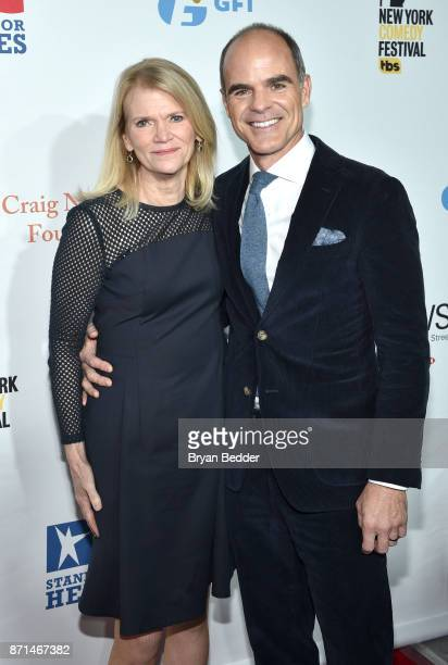 Martha Raddatz and Michael Kelly attend the 11th Annual Stand Up for Heroes Event presented by The New York Comedy Festival and The Bob Woodruff...
